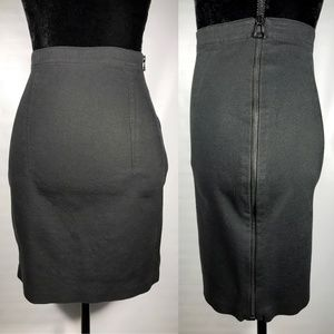 Alexander Wang Side-Zip Miniskirt